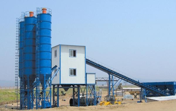 葛洲坝公司随州项目HZS60